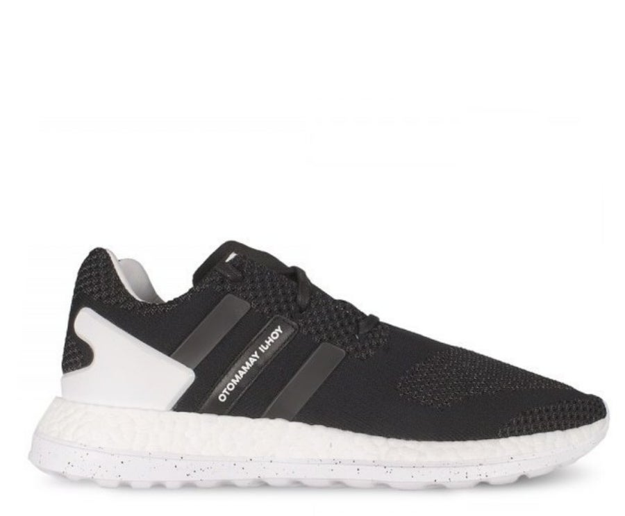 Image of Y3 PURE BOOST ZG KNIT TRAINERS BLACK AQ5729