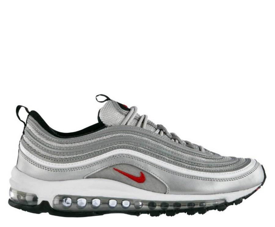 "Image of NIKE AIR MAX 97 OG QS ""SILVER BULLET"" 884421-001"