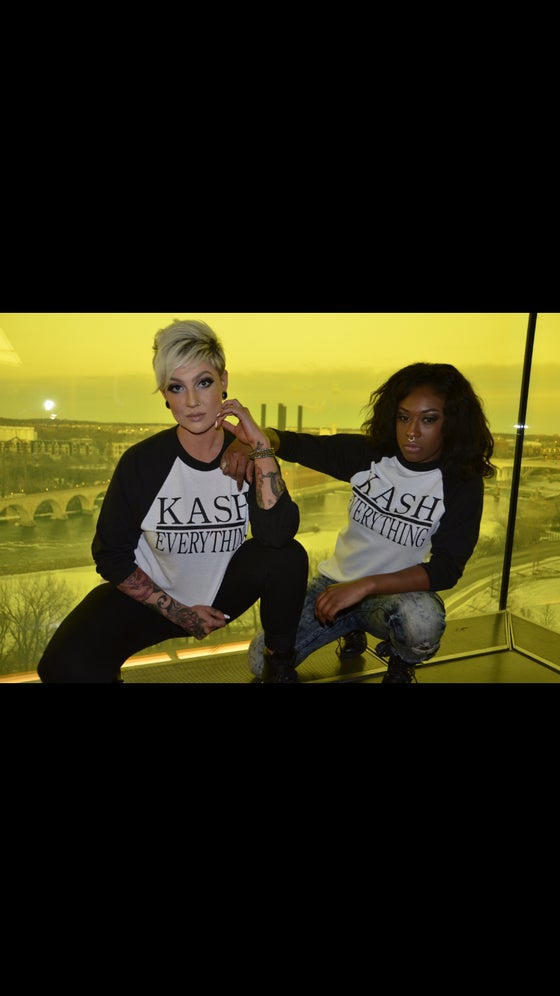 Image of Kash Over Everything Baseball Tee