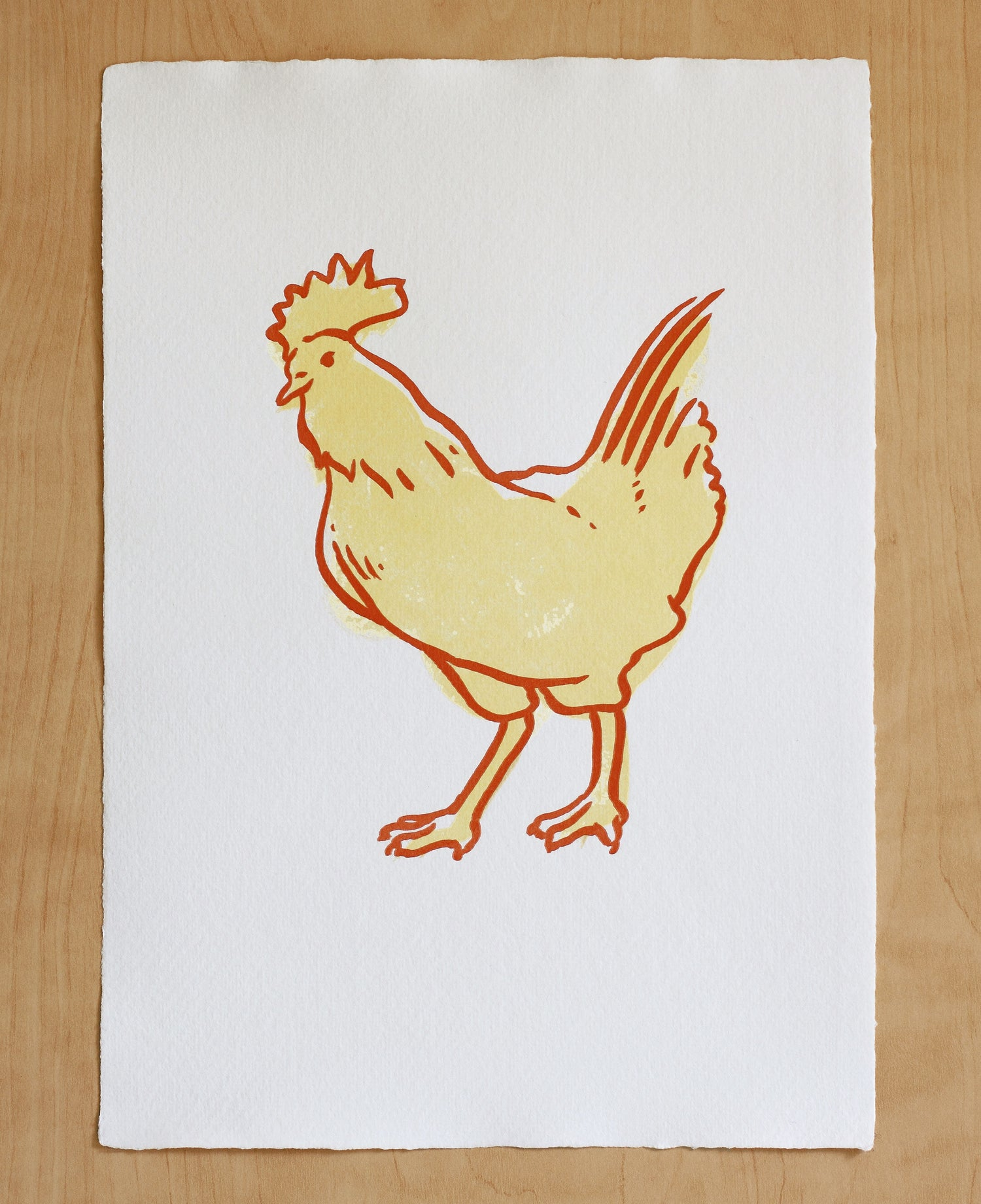 Image of CHICKEN Print