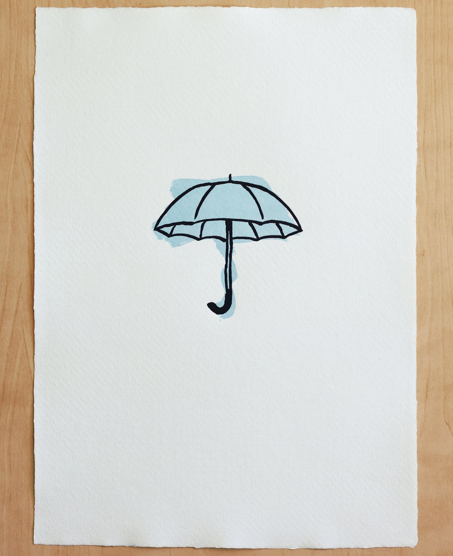 Image of UMBRELLA print