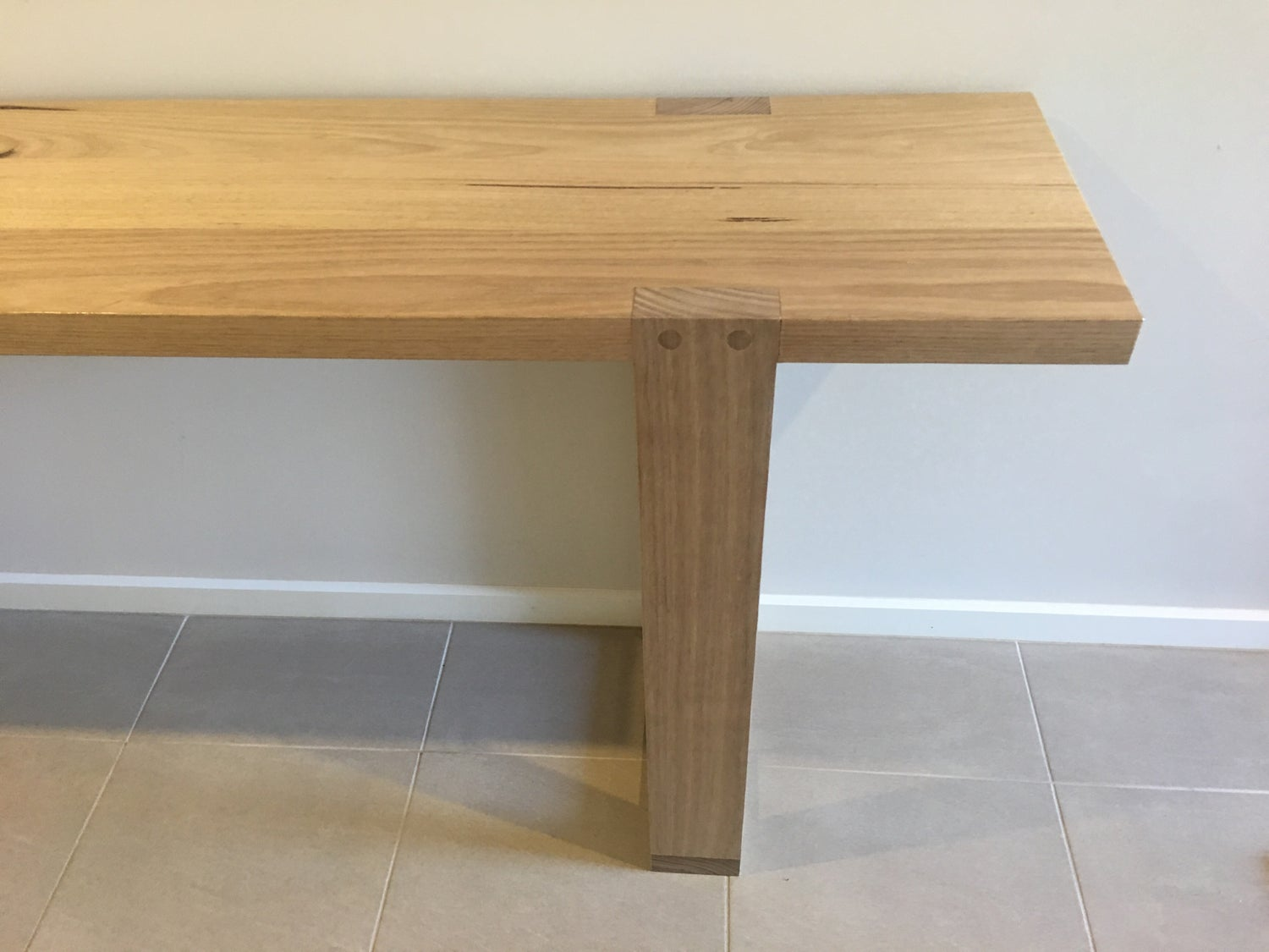 Image of Hoop Leg Hall Table