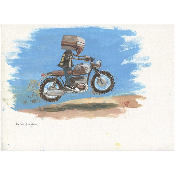 Moto Duro - Matt Q. Spangler Illustration