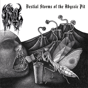Image of Hail ‎– Bestial Storms of the Abyssic Pit 10""