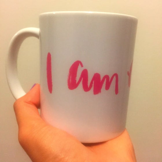 Image of I am enough mug