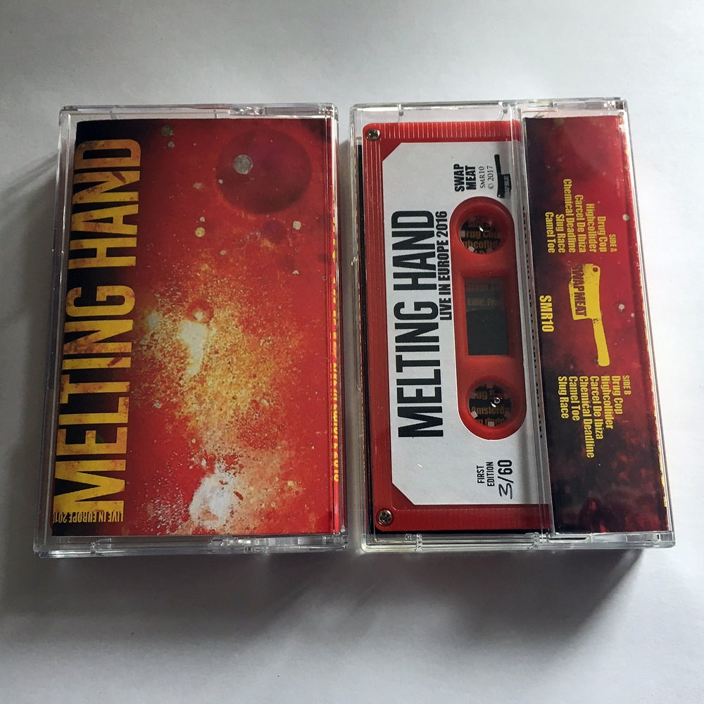 MELTING HAND 'Live In Europe 2016' Cassette & MP3