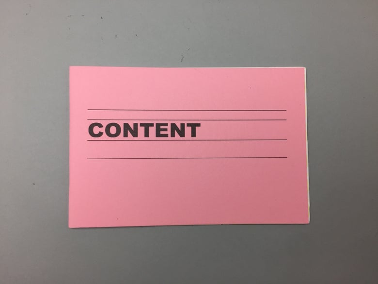 Image of CONTENT