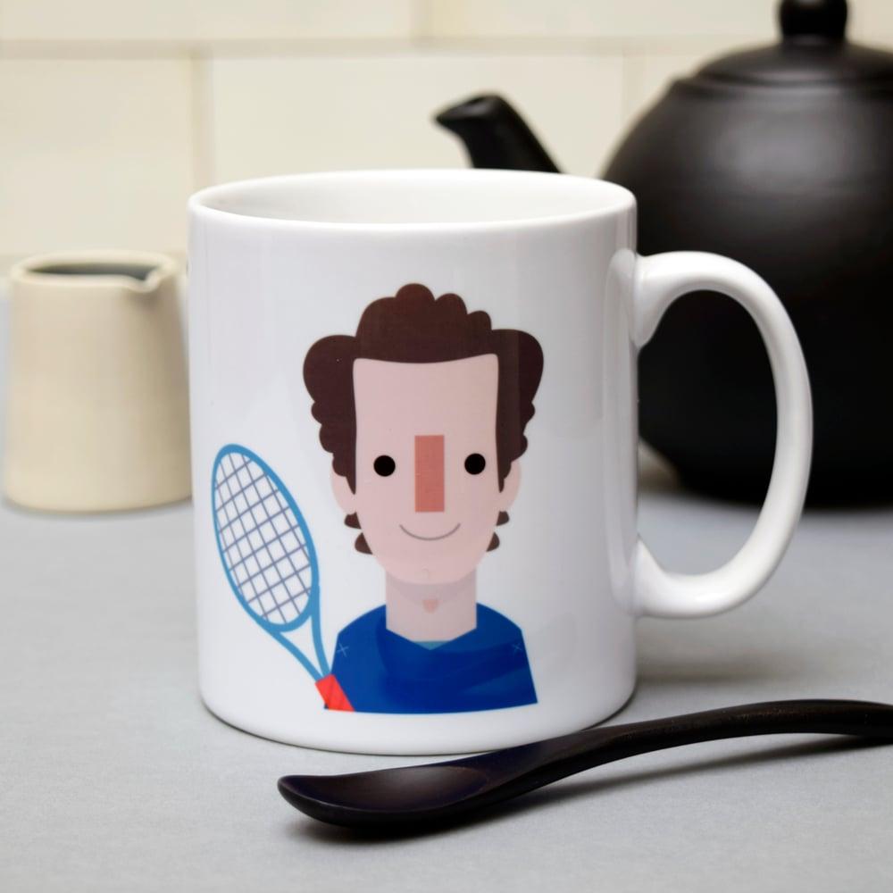 """Image of """"Tea is served"""" (Mug)"""