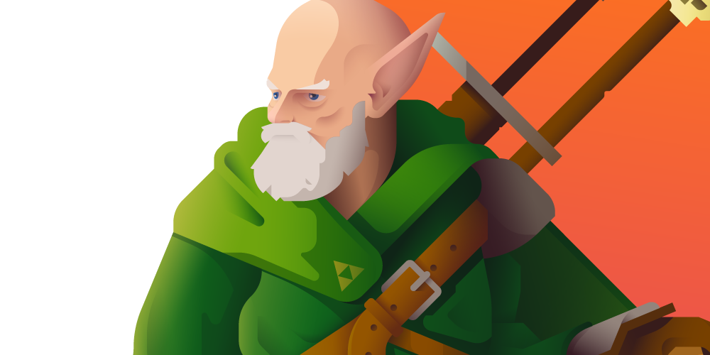 Image of Old Man Link