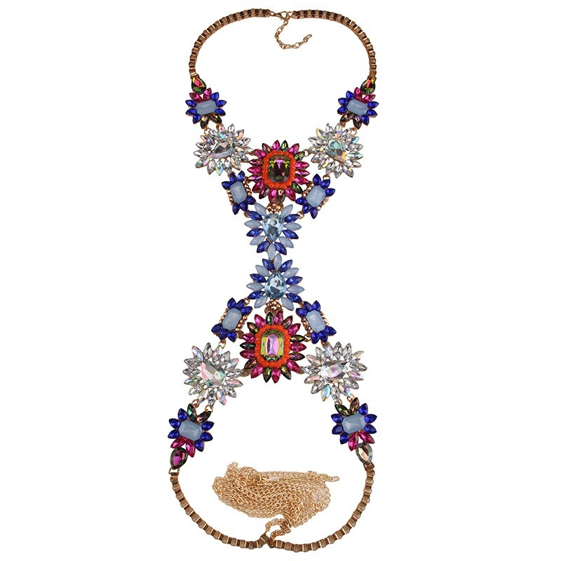Image of Unapologetic Body Statement Necklace MULTI