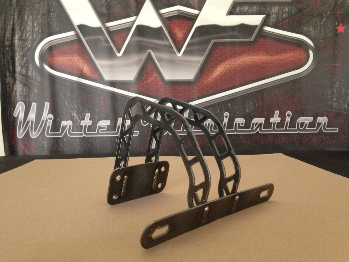 Image of Over Tailgate Plate Mount - Industrial - Tag Bracket