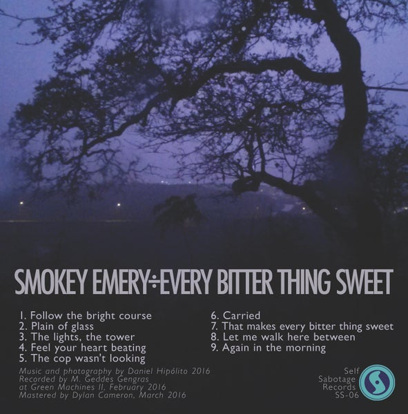 "Image of Smokey Emery ""Every Bitter Thing Sweet"" CD, CS"
