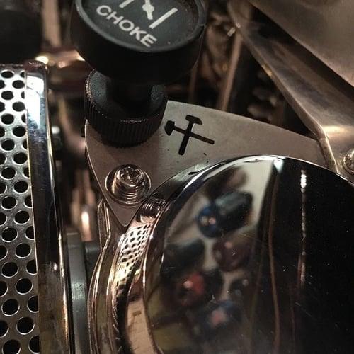 Image of CV Carb Choke Re-locator