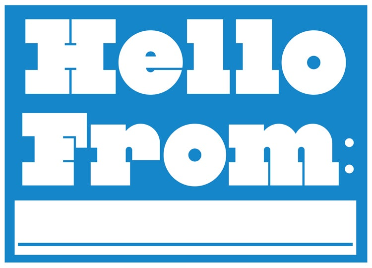 Image of Hello From Postcard