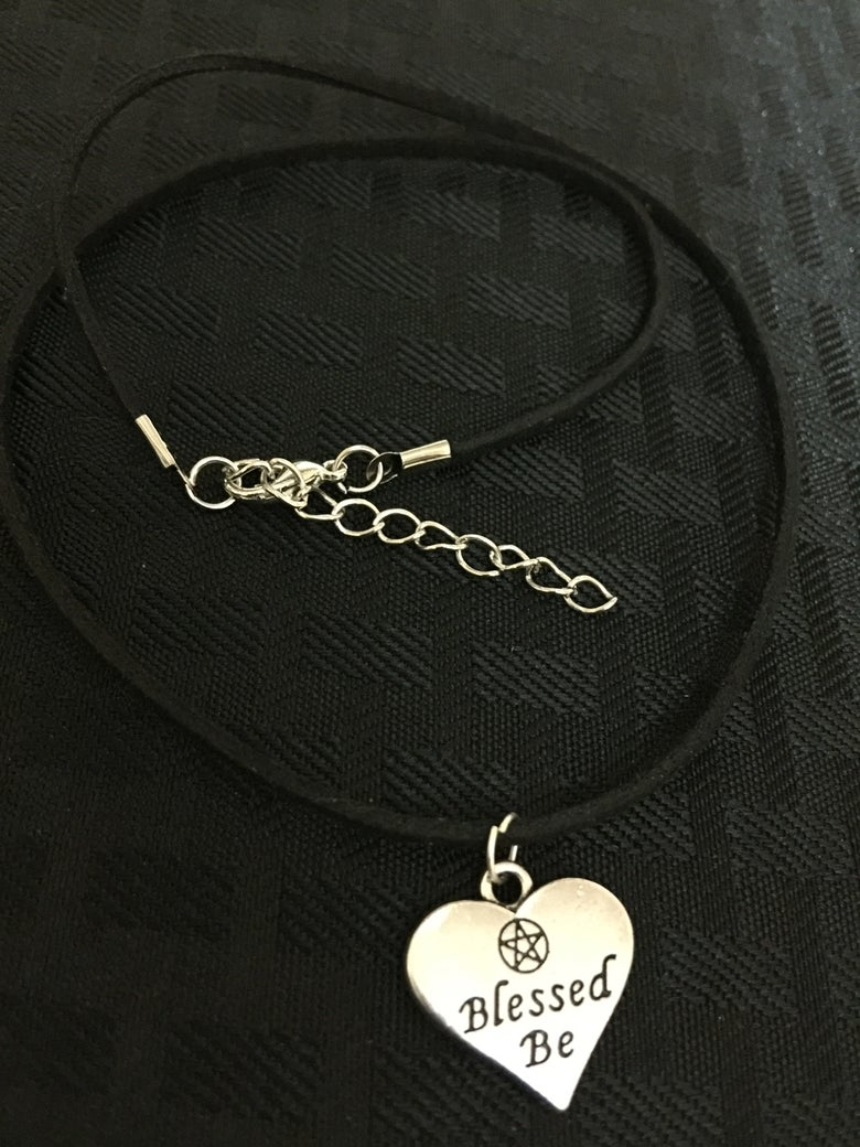Image of Blessed be adjustable choker