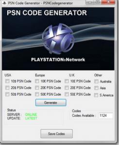 Generator Psn Psn code Socialhacks code Generator