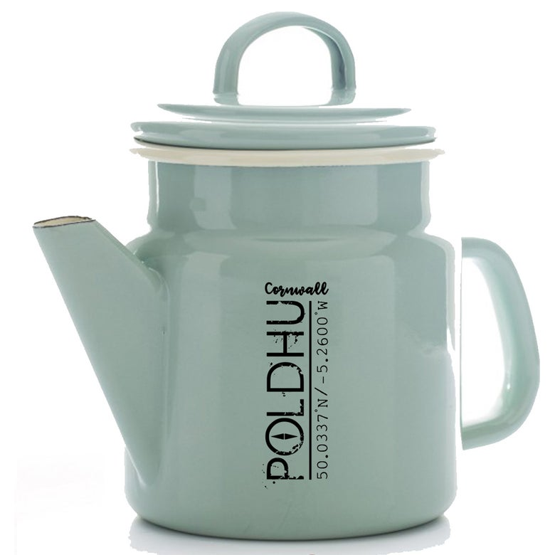 Image of POLDHU Vintage Tea/Coffee Pot - SAGE GREEN