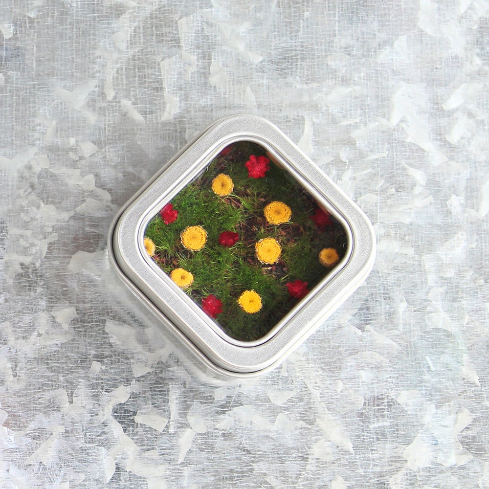 Image of Cute Office Decor, Floral Magnet