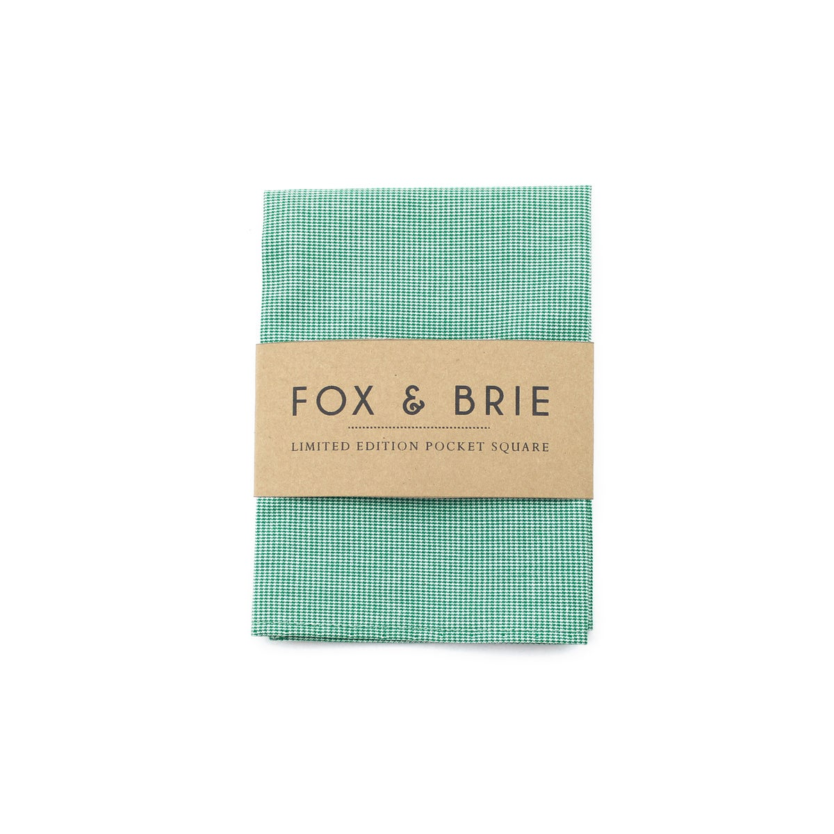 Image of Emerald Pocket Square