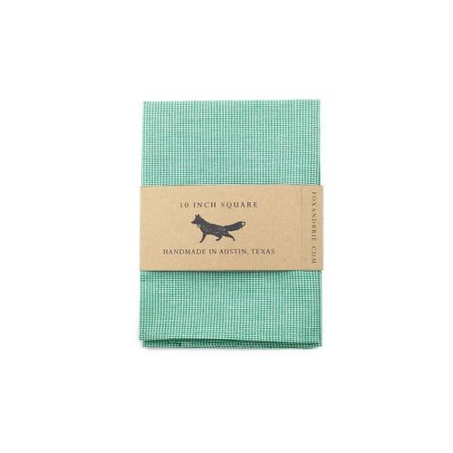 Image of Emerald Pocket Square