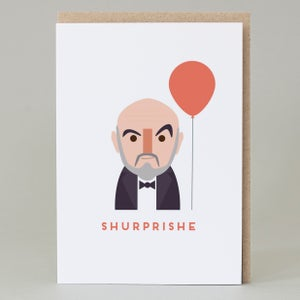 "Image of ""Shurprishe"" birthday Card"