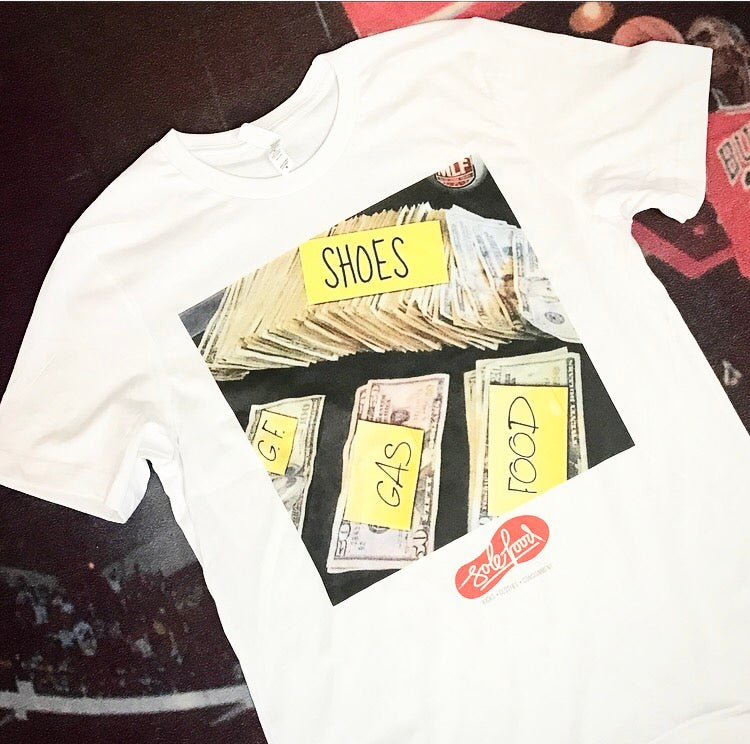 "Image of Sole Food Kicks ""Budget Tee"""