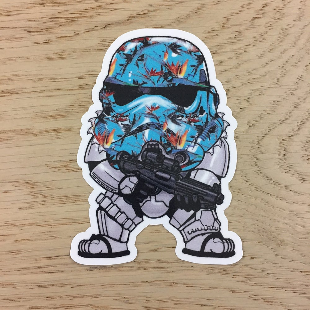 Image of BOP Storm Trooper Vinyl Sticker