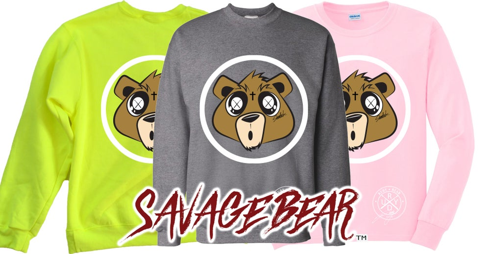 Image of NEW SAVAGE BEAR SWEATSHIRTS