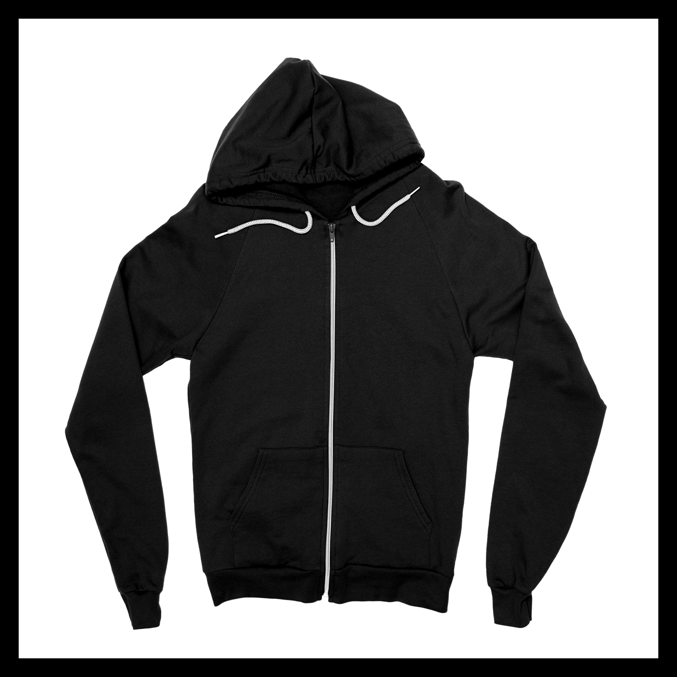 Image of Unisex Zip-Up Hoodie I