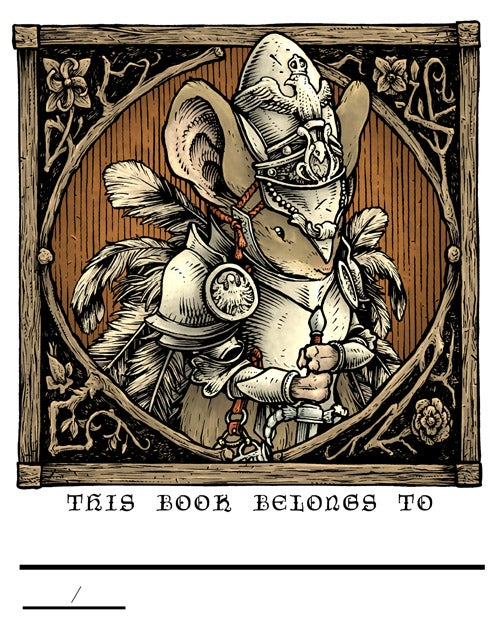 Image of Mouse Guard 2017 Bookplate