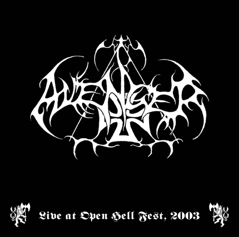 "Image of AVENGER "" Live at Open Hell Fest ""  CD"