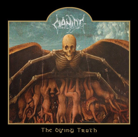 "Image of CIANIDE "" The Dying Truth ""  CD"