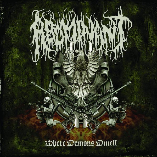 "Image of ABOMINANT "" Where Demons Dwell  ""  CD"