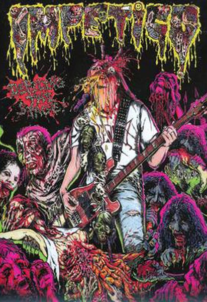 "Image of IMPETIGO ‎"" Defiling The Stage  "" DVD"