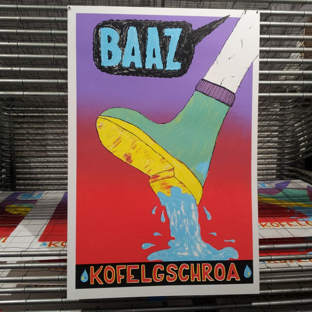 Image of KOFELGSCHROA BAAZ TOURPLAKAT (VARIATIONEN)