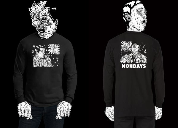 Image of Exclusive Cocktail/Strangler Long Sleeve Tee, designed by Bobbi Oskam.