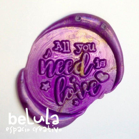 Image of Sello de lacre: All you need is love