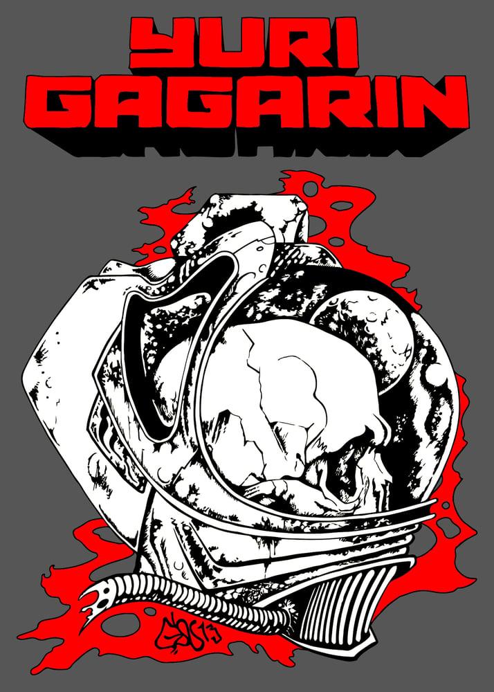 Image of Dark grey Necronaut T-Shirt