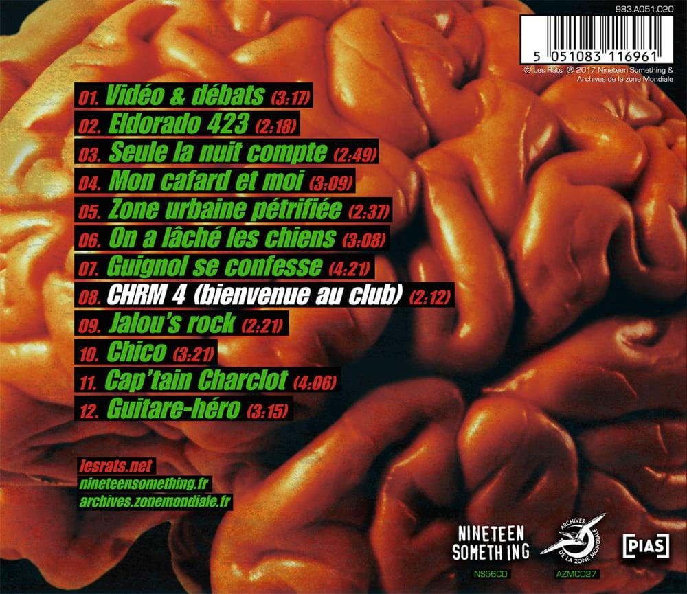 """LES RATS """"Bienvenue au club!"""" CD réédition 2017"""
