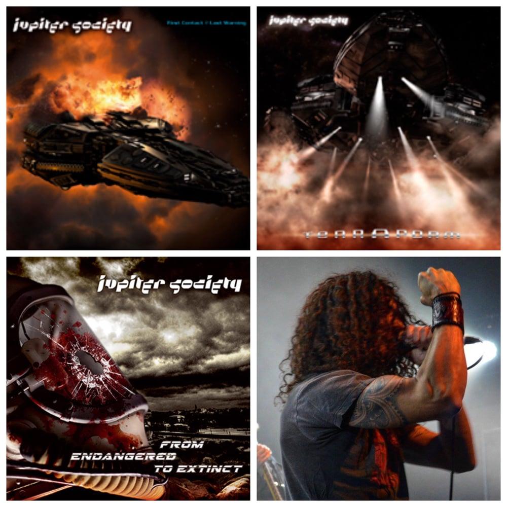 Image of Jupiter Society-All 3 albums on cd
