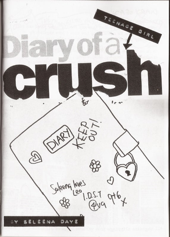 Image of diary of a TEENAGE GIRL CRUSH