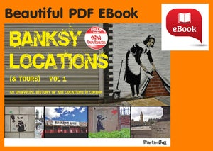 Image of Banksy Locations (& Tours) Vol.1 - eBook [PDF] - Lovely 180 page colour book