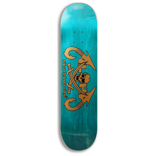 Image of Aloha Skateboards Skull Hook Deck