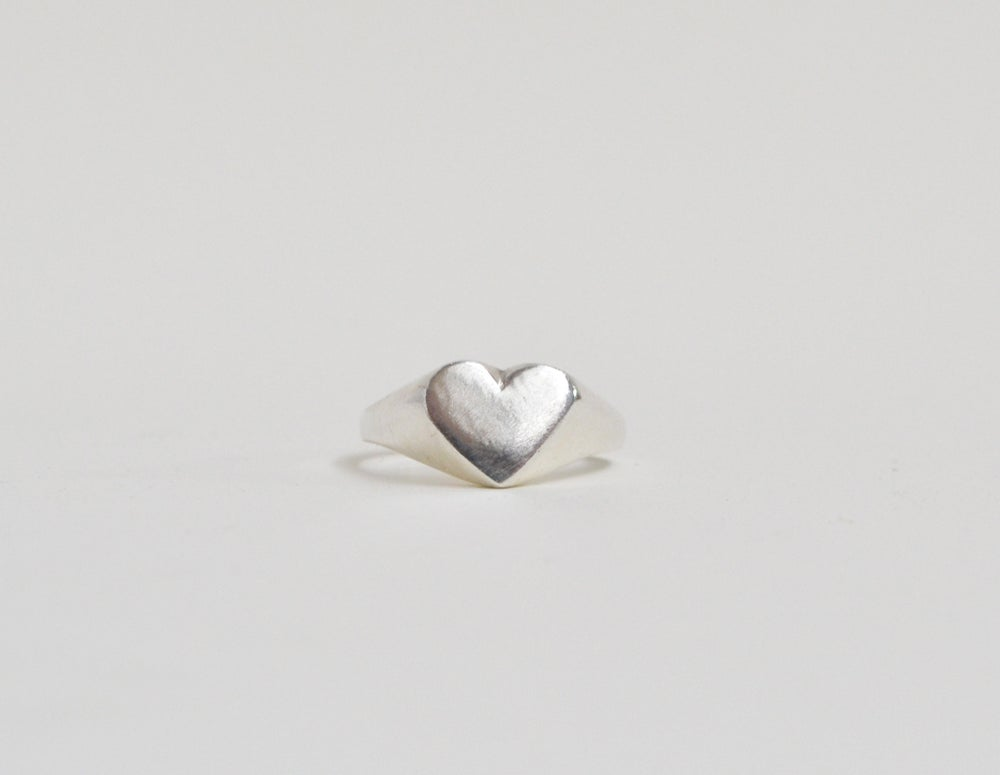 Image of Heart Shaped Signet