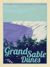 Grand Sable Dunes, Pictured Rocks National Lake Shore 18x24 Print No. [072]