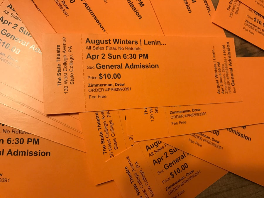 Image of April 2nd Tickets at The State Theatre, State College, PA