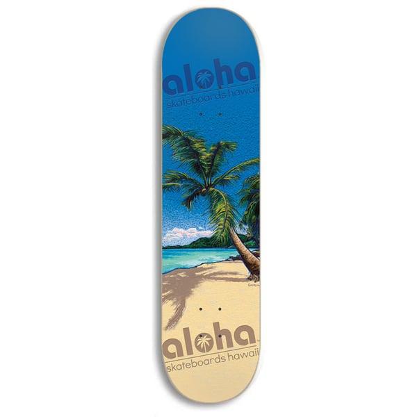 Image of Aloha Skateboards Palm Tree Deck