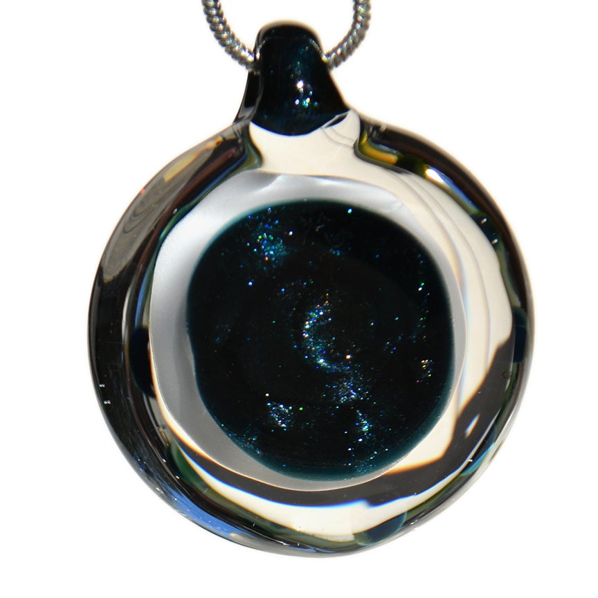 Image of Pendant with Om Implosion