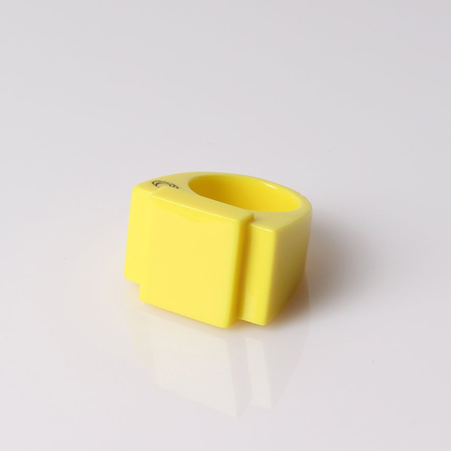 Image of Bague urbOne jaune Limited Edition