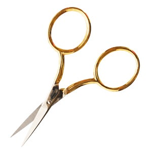 Image of Gold Venetian embroidery scissors